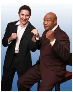 George Foreman and Marko Rubel