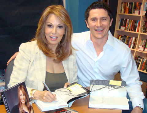 Raquel Welch with Marko Rubel